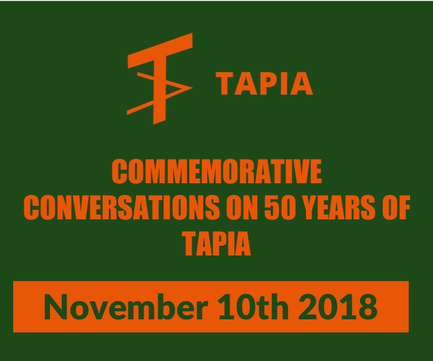 COMMEMORATIVE CONVERSATIONS ON 50 YEARS OF TAPIA